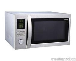 Sharp 220 Volt 43L Large Combination Microwave Oven with GRI