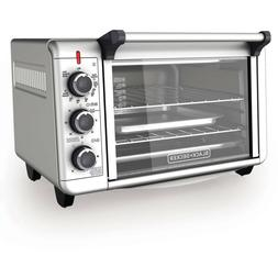 BLACK+DECKER Convection Countertop Oven Stainless Steel  Ele