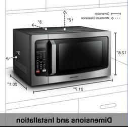 Toshiba EC042A5C-SS Microwave Oven with Convection Function