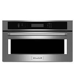 """KITCHENAID KMBP100ESS 30"""" Built-in Microwave Oven with 900 W"""
