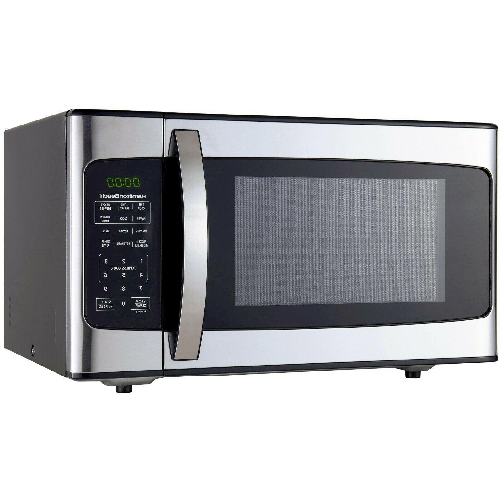 1 1 cu ft 1000w stainless steel