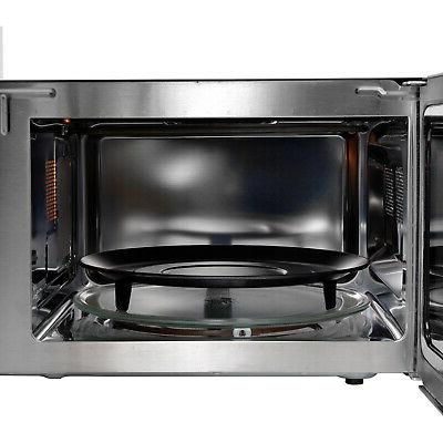 RCA 1.2 Ft Microwave with Fryer and - Steel