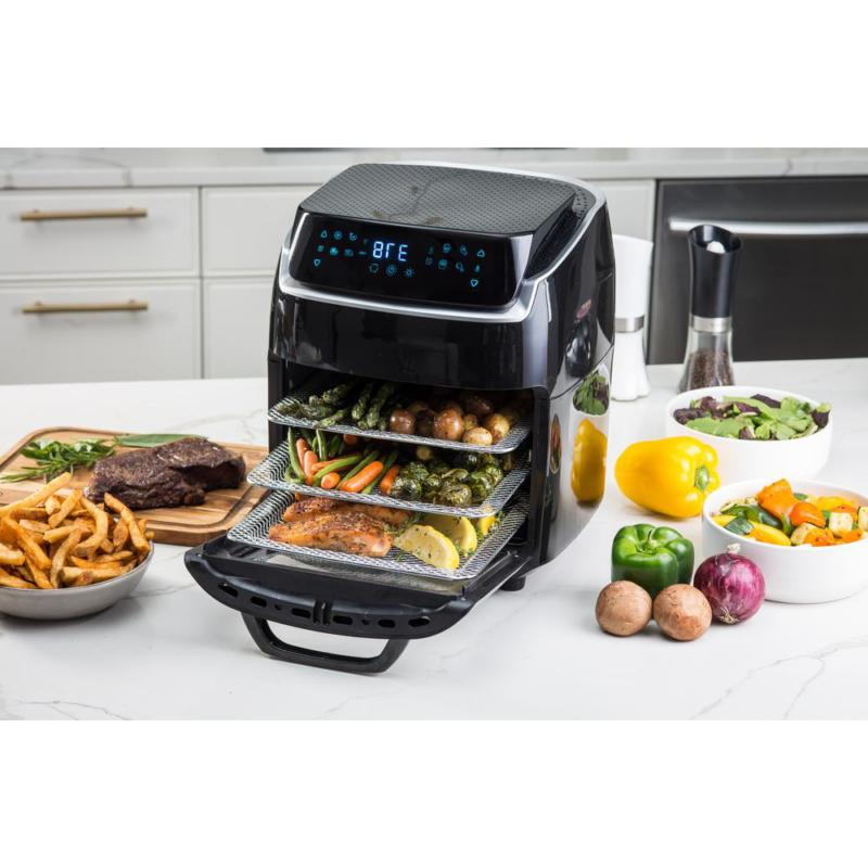Aria Qt. AirFryer Convection Oven with Book