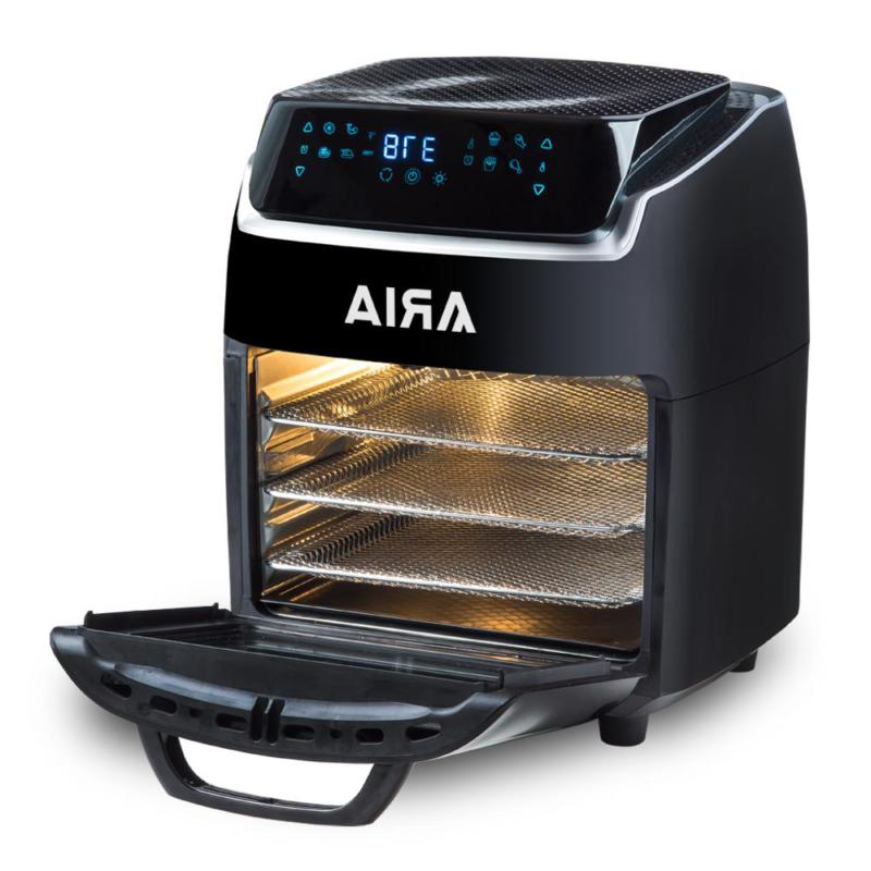 Aria AirFryer Toaster Oven with Recipe