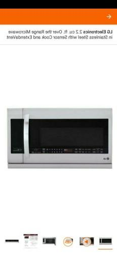 LG Steel Microwave Oven   LMHM2237ST  