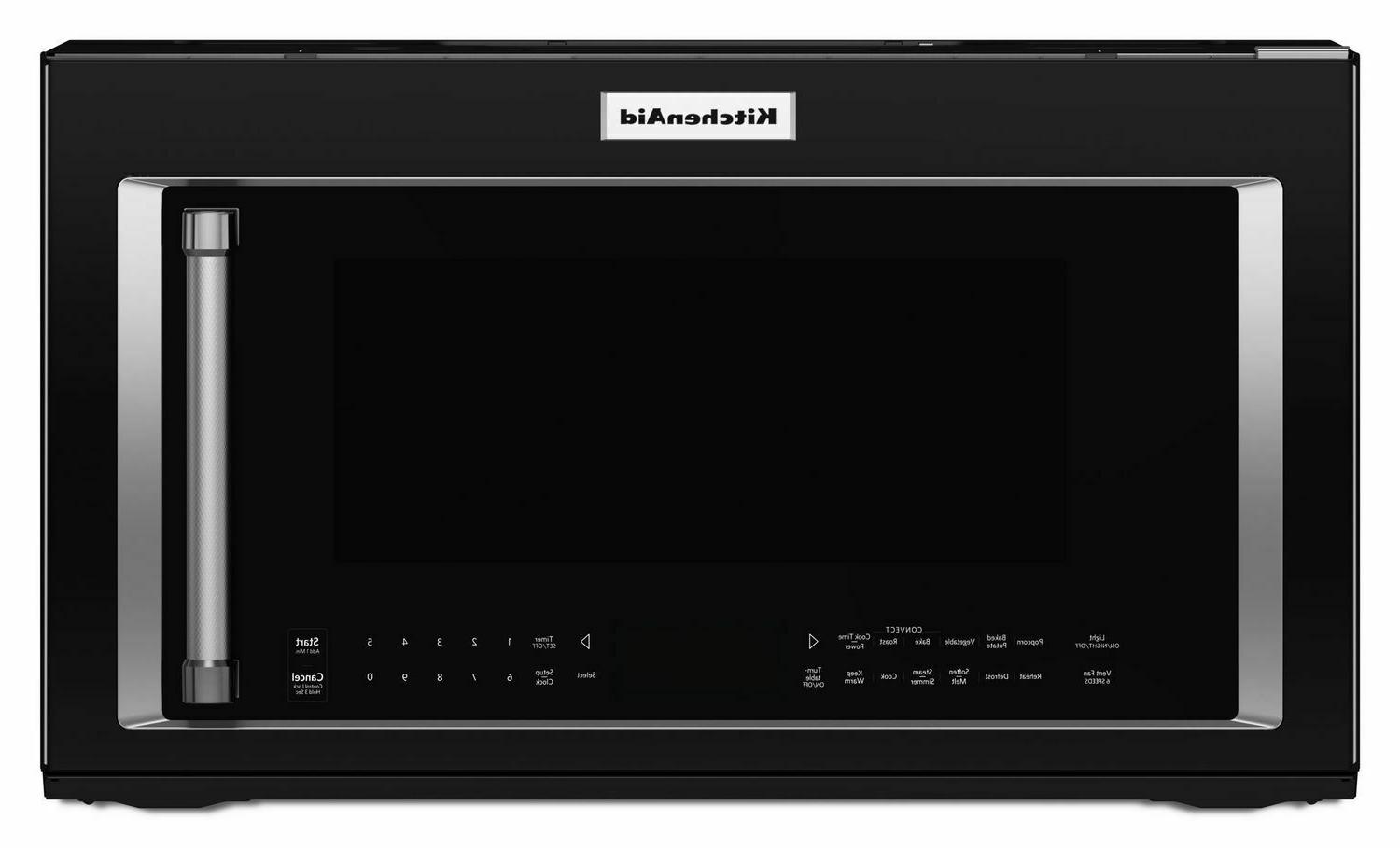 Kitchenaid - 1.9 Cu. Ft. Convection Over-the-range Microwave