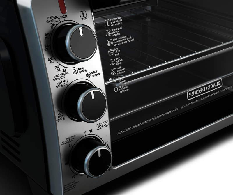 Black Convection Toaster Oven TO1950SBD