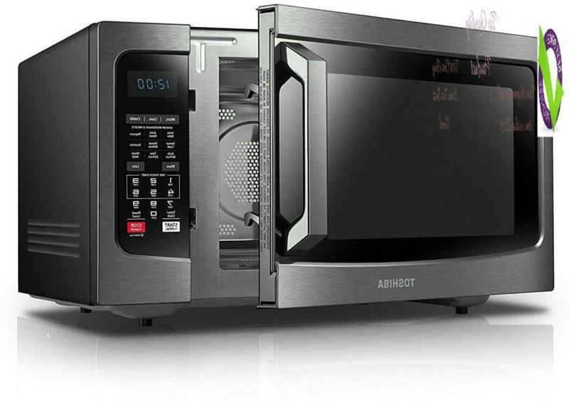 Toshiba 1.5 Ft./1000W, Oven Convection, Black