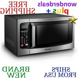 *New* TOSHIBA 1.5cu.ft. CONVECTION MICROWAVE OVEN Black Stai